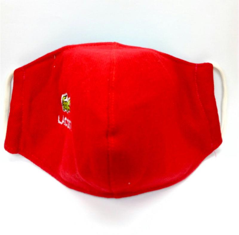 FACE MASK CLOTH 1 PIECE (REUSABLE) RED