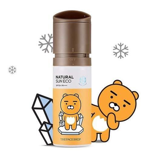The Face Shop Natural Sun Eco Ice Air Puff Sun SPF50+ PA