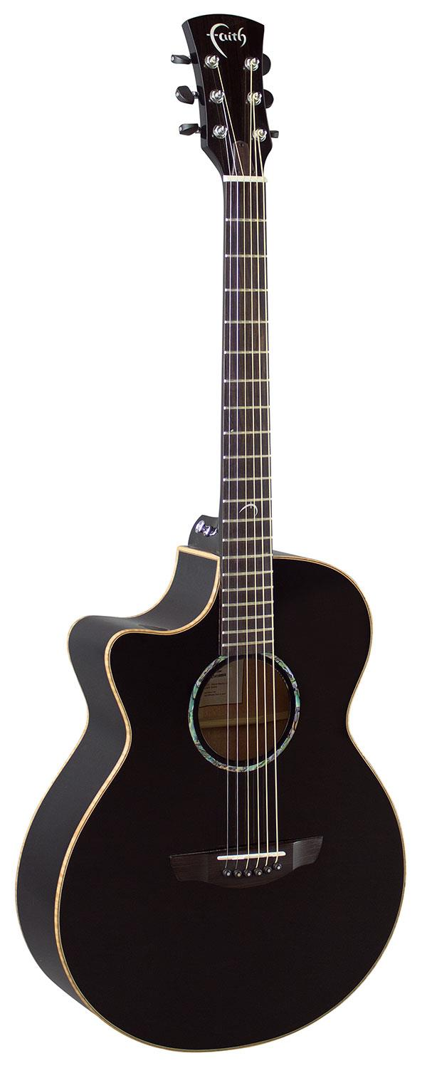 FAITH ACOUSTIC GUITAR FECVL VENUS LEFTHANDED ECLIPSE WITH HARDCASE