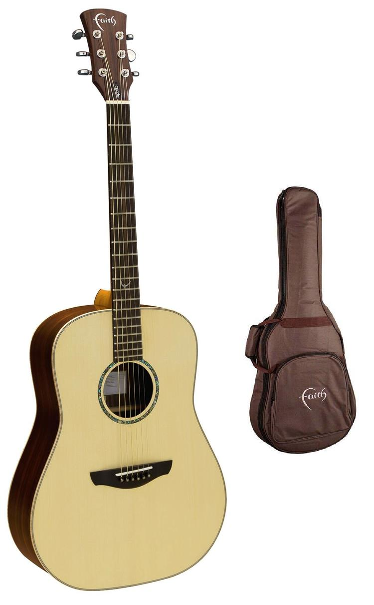 FAITH SATURN ACOUSTIC GLOSS ACOUSTIC GUITAR WITH FREE BAG (FAS)