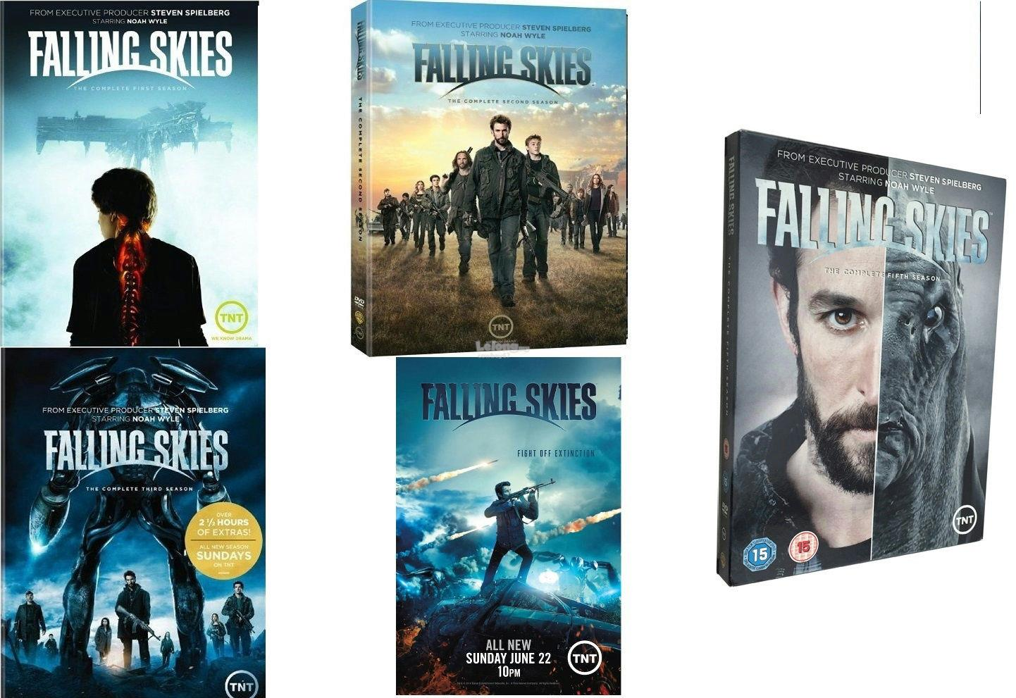 Falling Skies - The Complete Series - New DVD Box Set