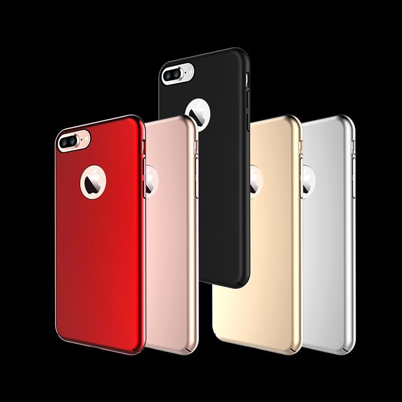 FanShang Oak iPhone 7 Plus 7+ Magnetic Frosted Matte Back Cover Case