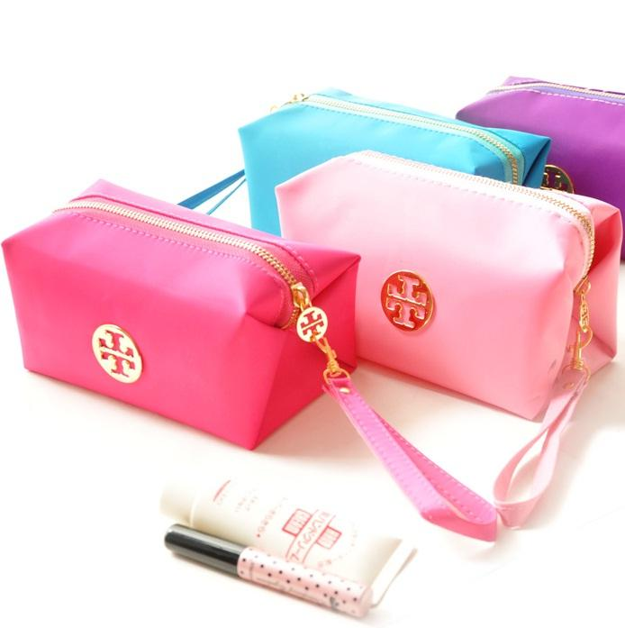 Fashion Candy Color Waterproof Cosmetic Bag