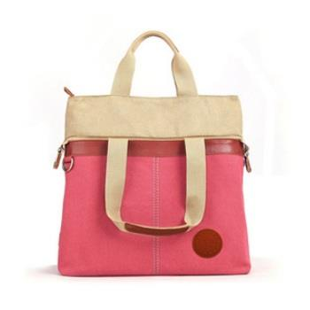 New fashion canvas handbags handbag shoulder bag casual fashion stitch