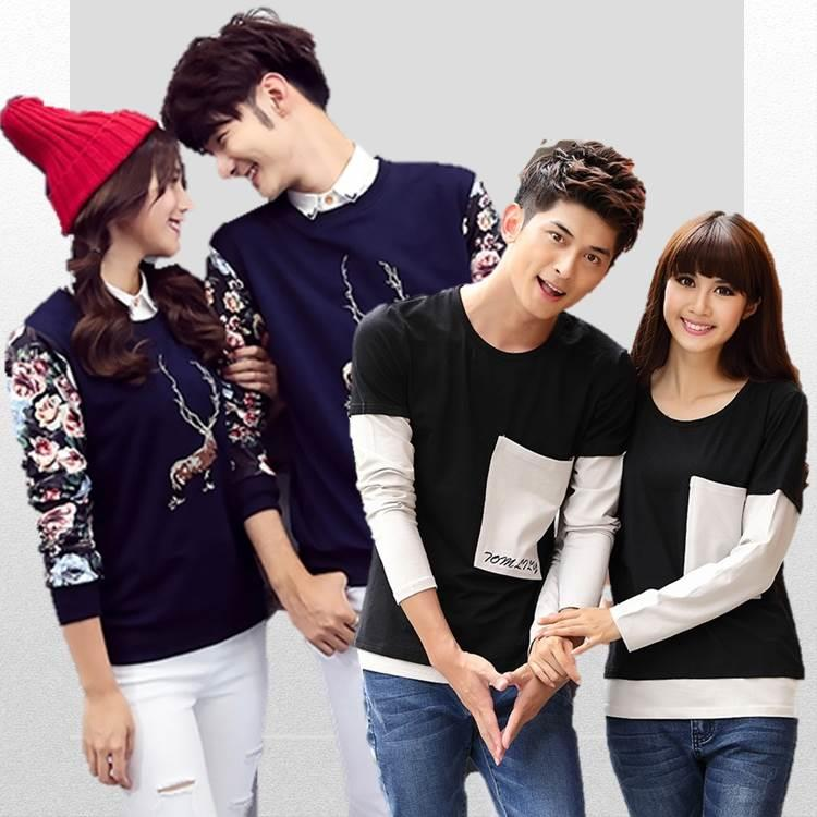 {Fashion Clickers} Couple T-Shirts 10 Designs (S to 3XL) 0124