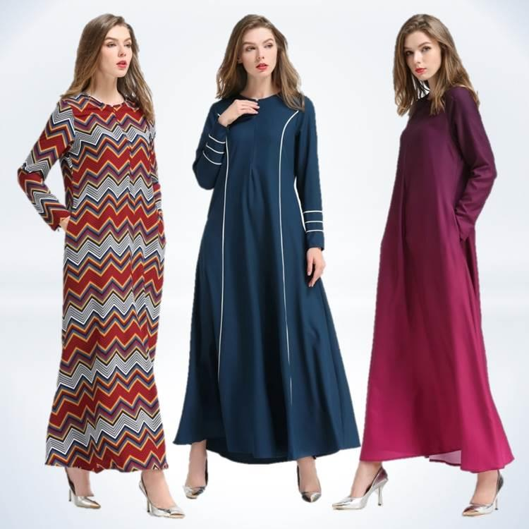 {Fashion Clickers} Jubah Dress 10 Designs (S to 2XL) 0439