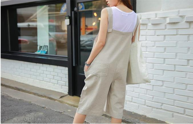 Fashion Jumpsuit Almond