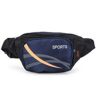 Fashion Men Relax Belt Bag (Dark Blue)
