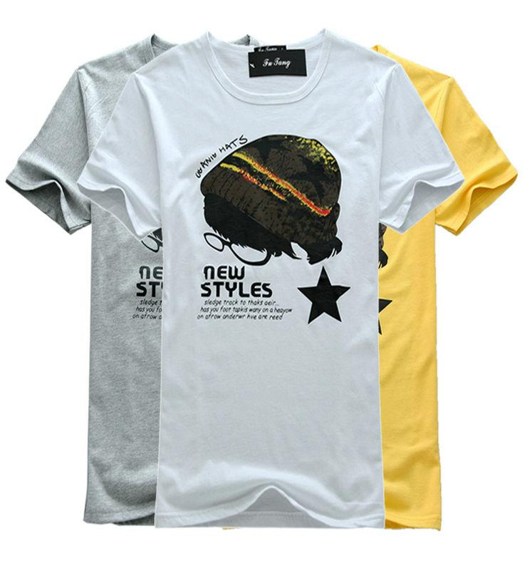 Fashion Men T-shirt 12922 (Hat)
