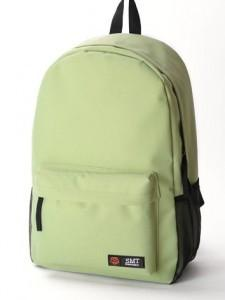 Fashion Nylon Backpack 15480 (Mint Green)