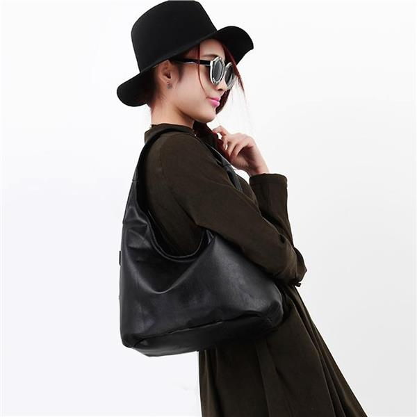 Fashion PU Leather Women Shoulder Bag - FREE SHIPPING