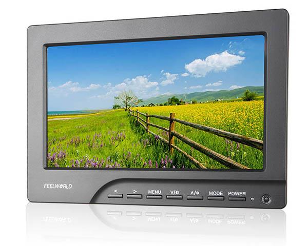 Feelworld FW689 7in HD Camera Field Monitor HDMI Peaking Focus Assist