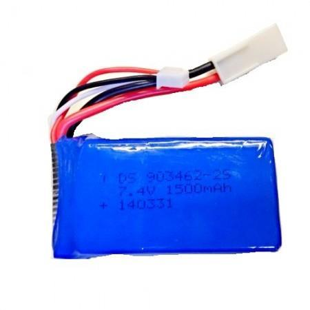 FeiLun FT009 Spare Part-11-2s 7.4v 1500mAh Upgrade Lipo Battery