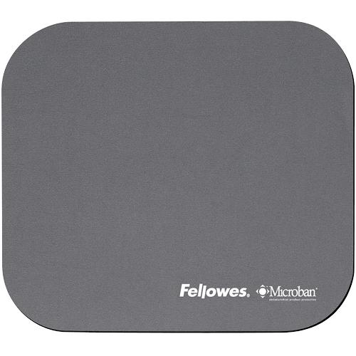 Fellowes Mouse Pad with Microban - Silver