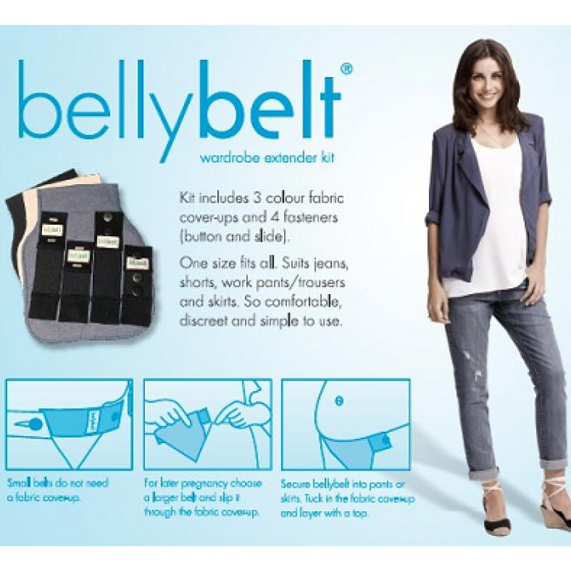 Fertile Mind Belly Belt Extender Kit for Pant