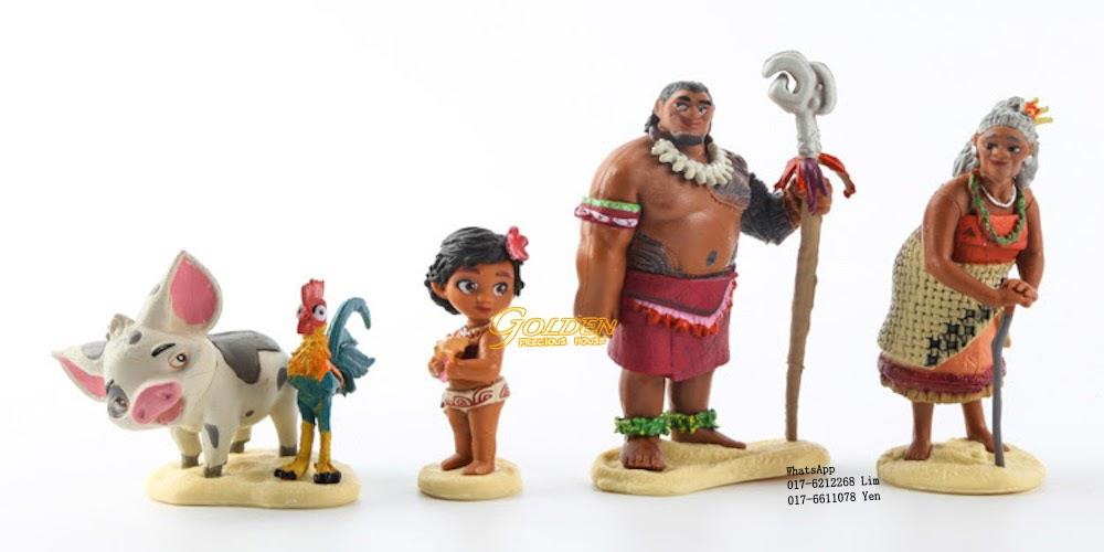 Cake Decoration Figures : FG7676 Moana Mini Figurines Play Set (end 5/9/2018 9:38 PM)