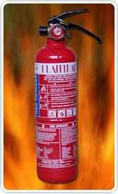 Fire Extinguisher 1.0kg (ABC Dry Powder)