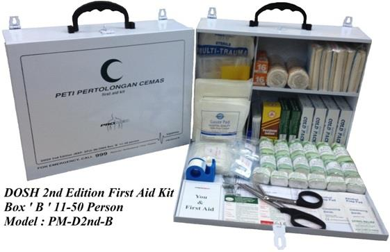 First Aid Kit-DOSH 2nd Edition 11-50 person