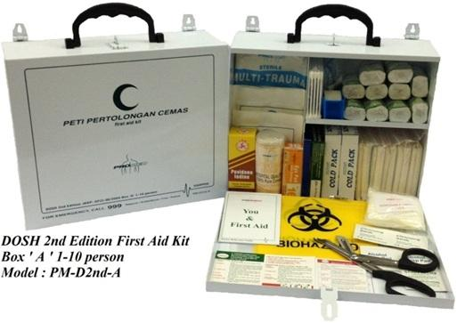 First Aid Kit-DOSH 2nd Edition BOX A
