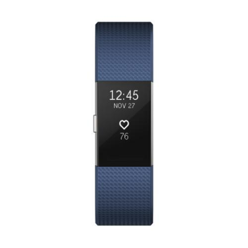 Fitbit Charge 2 Heart Rate Fitness Wristband (Black/Blue/Plum/Teal)