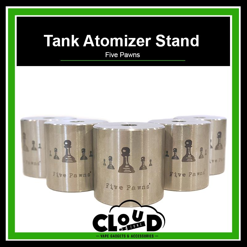 Five Pawns Tank Atomizer Stand Collectible Items Atty Stand Tank Mount