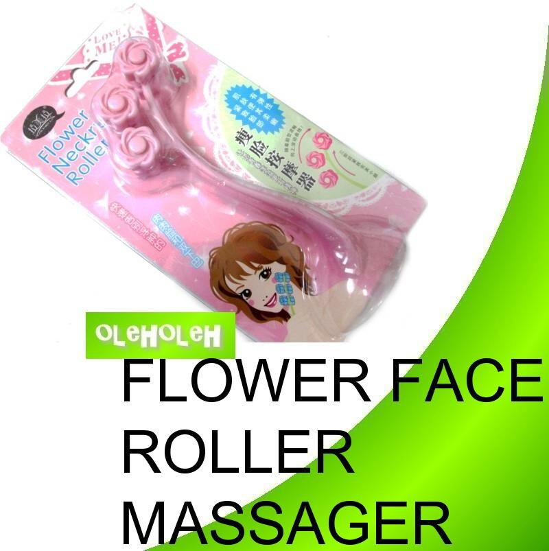 Flower Neckru Roller Massager