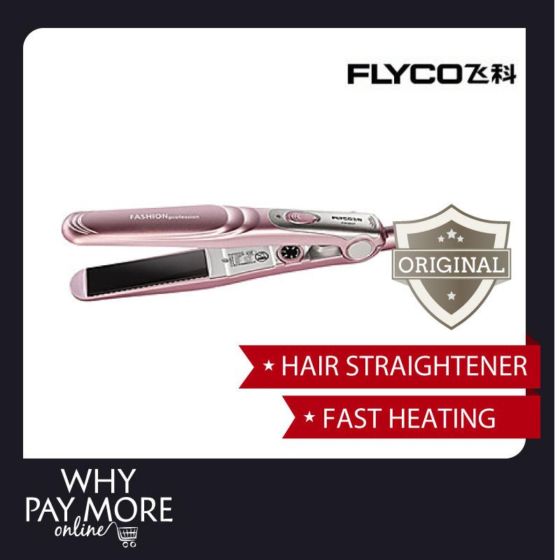FLYCO Fashion Hair Straightener Flat Iron Styler FH6807 Ceramic Ionic