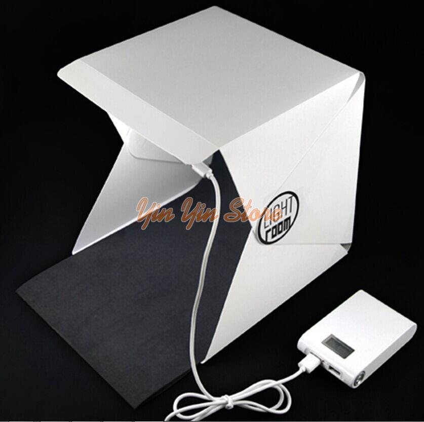 Foldable Portable Mini Photography Studio With LED Light