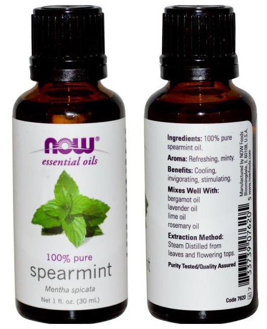 Now Foods, 100% Spearmint Essential Oil (30 ml)