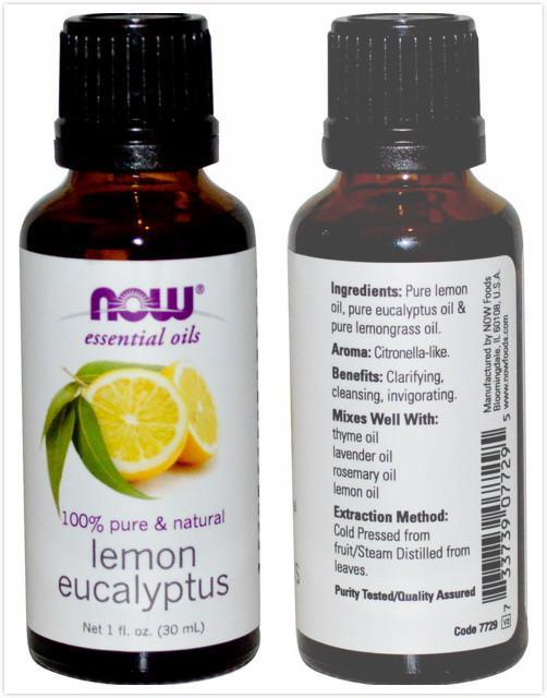 Now Foods, Pure Lemon Eucalyptus Essential Oil (30ml)
