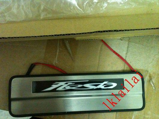 Ford Fiesta `09 Door / Side Sill Plate LED [4pcs/set]