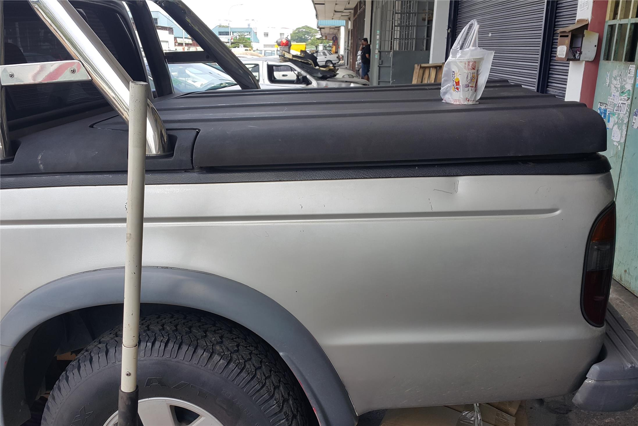 Ford Ranger 4×4 Rear Cabin