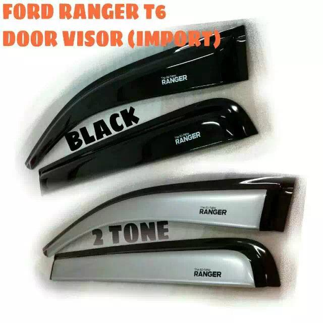 FORD RANGER T6 DOOR VISOR (IMPORT)