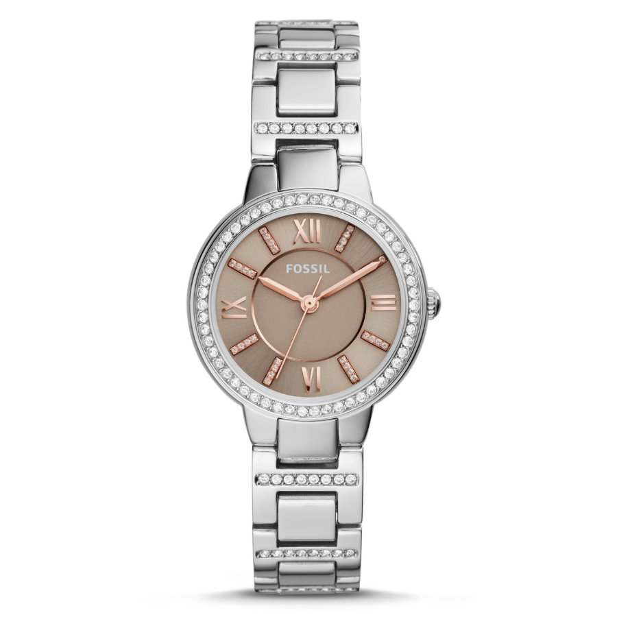 Fossil ES4147 Women's Virginia Quartz Steel Watch