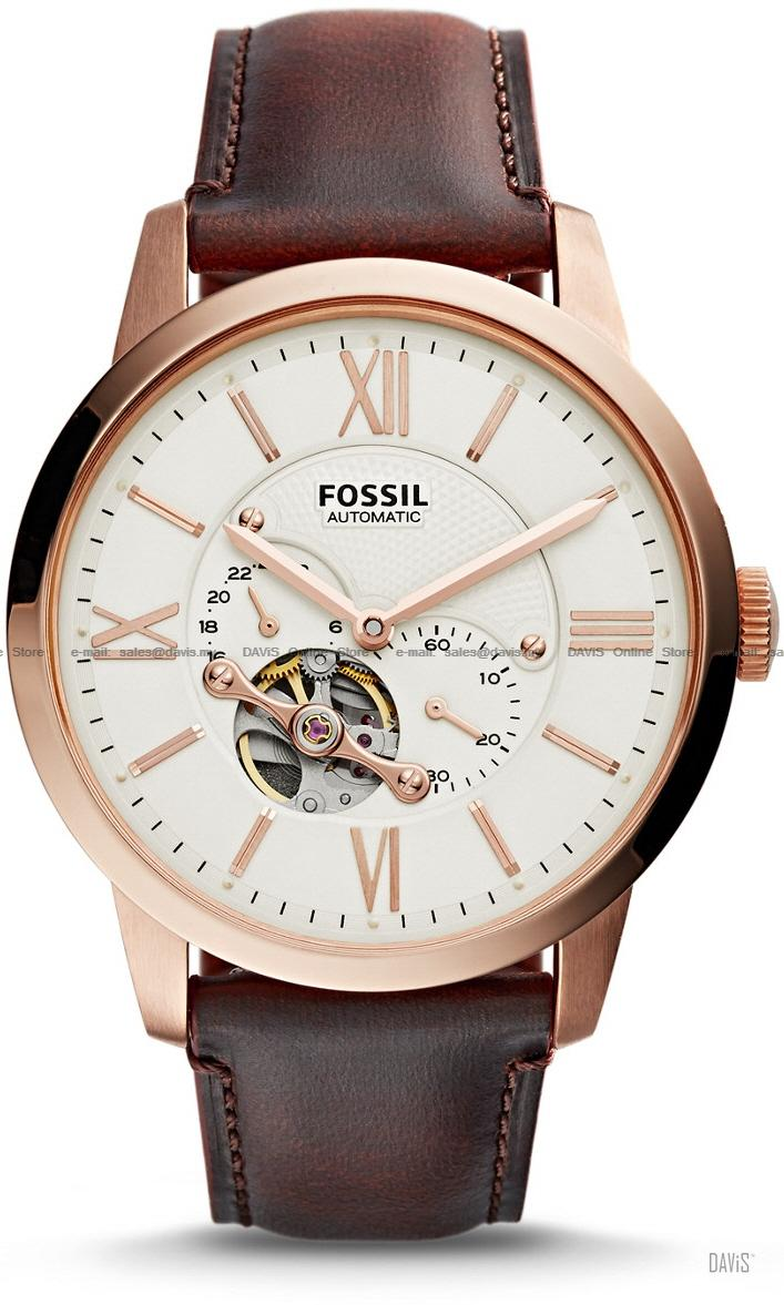fossil me3105 men s townsman automat end 10 1 2018 7 19 pm fossil me3105 men s townsman automatic leather strap brown