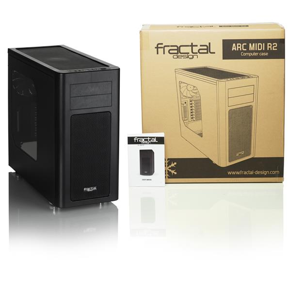 FRACTAL DESIGN ARC MIDI R2 WINDOW ATX CASE