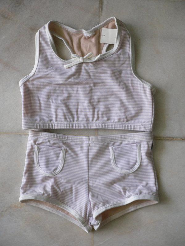 Free Shipping-Kid/Baby Two Pieces Swim Wear *Purple 8