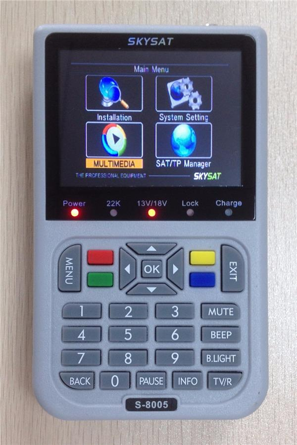 Free Shipping Skysat S-8005 Satfinder New Arrival