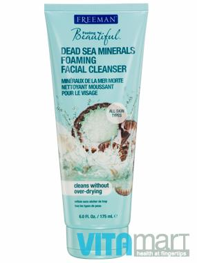 Freeman Dead Sea Minerals Foaming Facial Cleanser 175ml