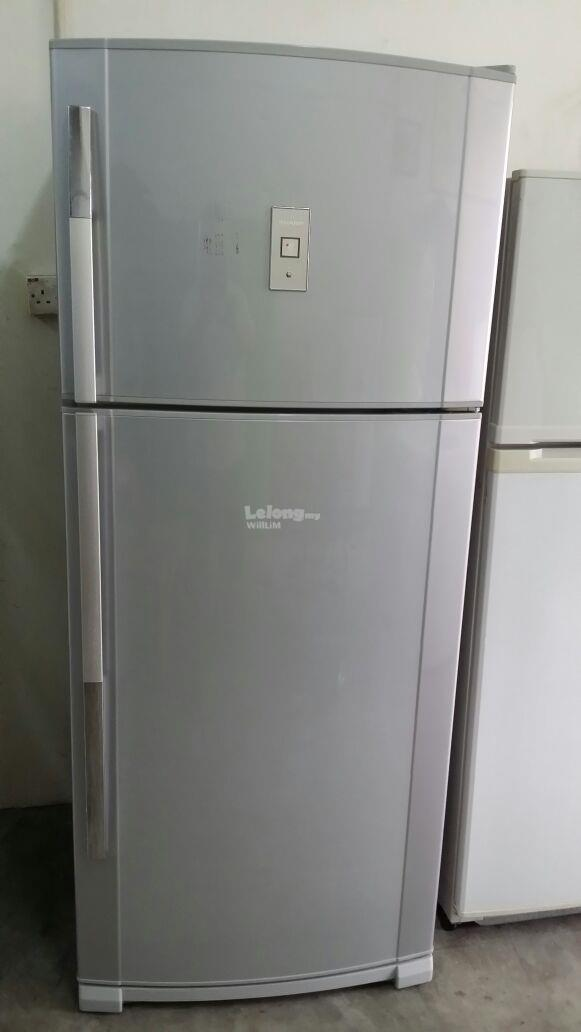 Fridge Sharp Refurbish Recondition Peti Ais Sejuk Freezer Refurbish