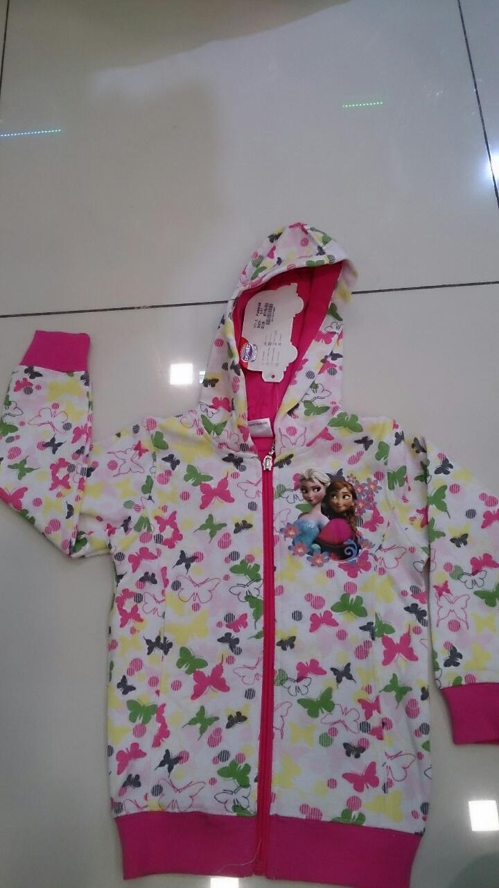 NEW FROZEN JACKET WITH HOODIE