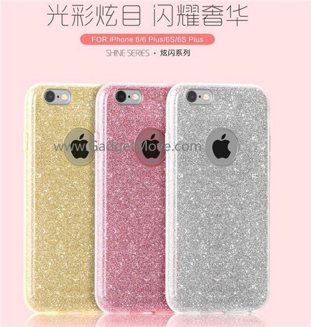 Fshang iPhone 6S plus Rosy TPU Case Cover