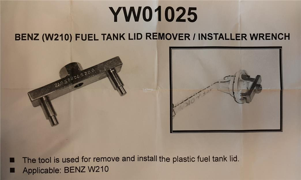 Fuel Tank Lid Wrench ID994789