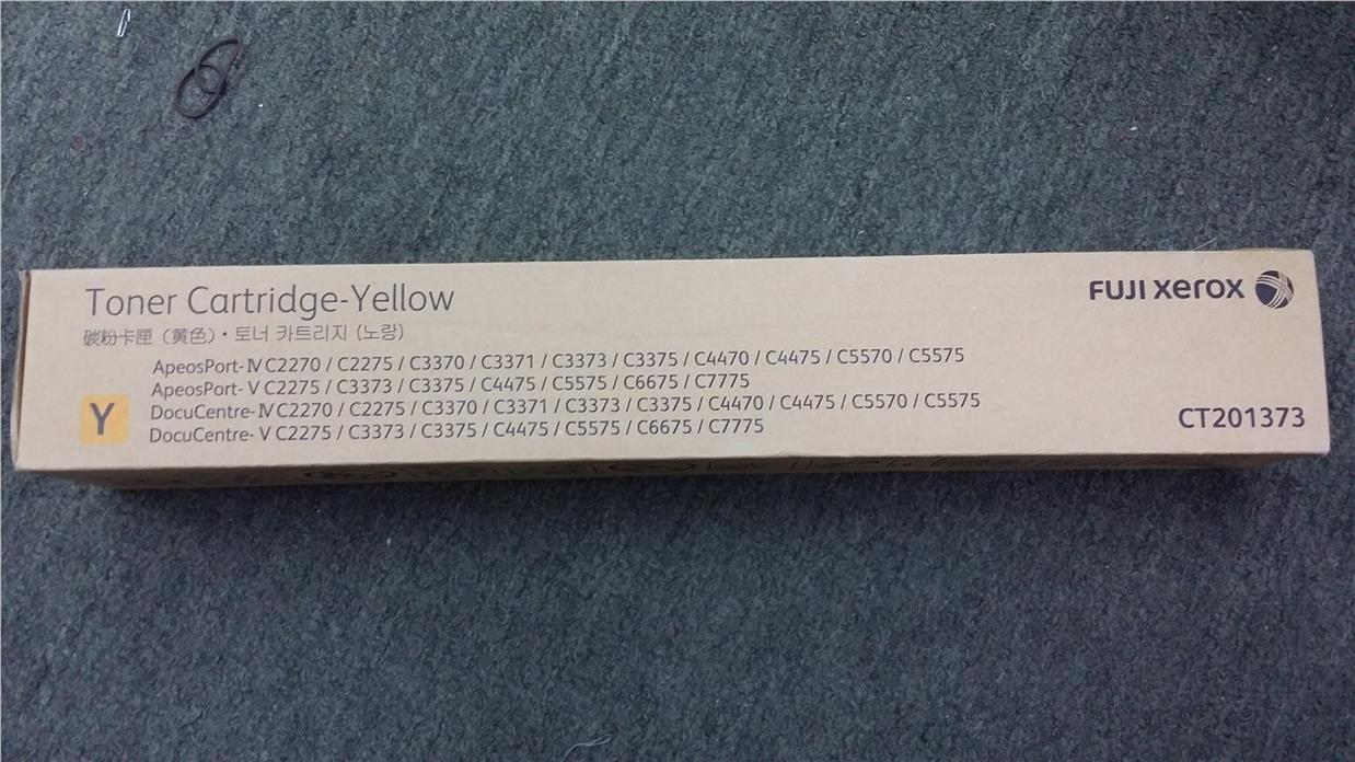 Fuji Xerox Cartridge CT201373 ( Yellow ) (Genuine) 201373 C6675 C7775