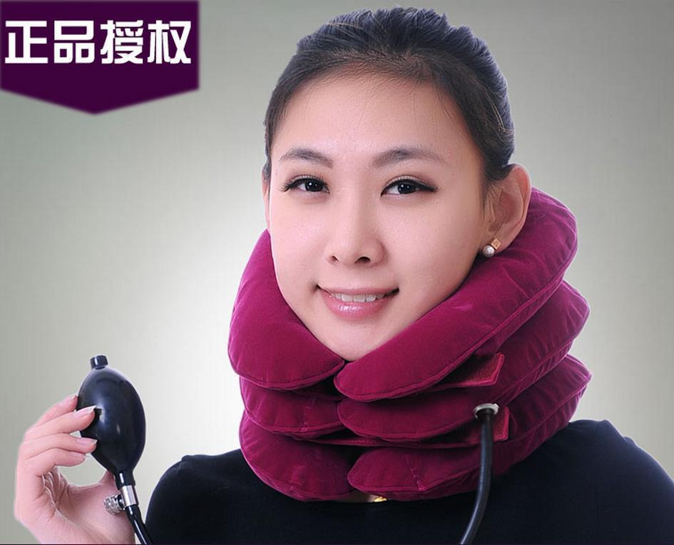 Full velvet JiaHe Cervical Neck Traction Less Head Shoulder Back Pain