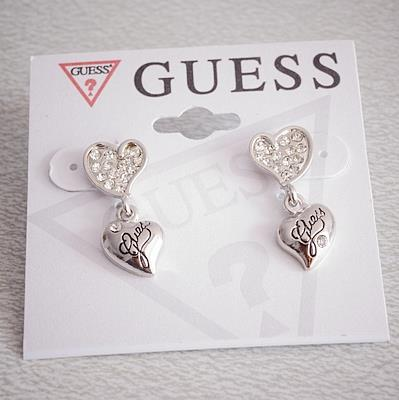 G Exquisite Love Earrings SILVER