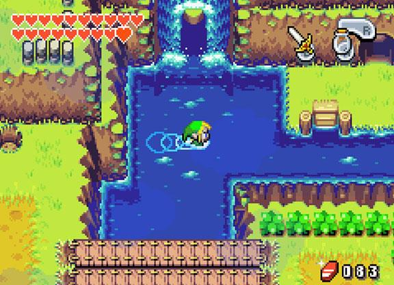 Gameboy Advance - The Legend of Zelda: The Minish Cap