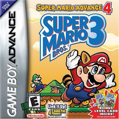 Gameboy Advance - Super Mario Advance 4: Super Mario Bros. 3 [English]