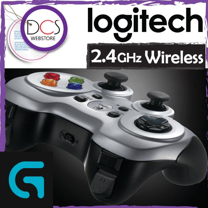 [FOR GAMERs] Logitech F710 Wireless Gamepad Dual Vibration Motor
