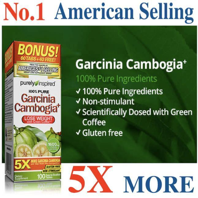 Garcinia Cambogia, 1600 mg, 100 Tablets #1 US Selling, Green Coffee